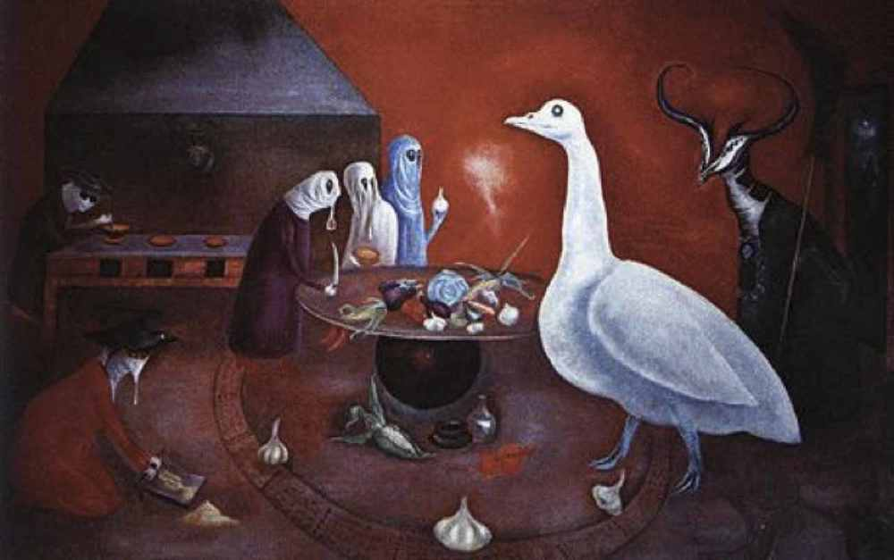 "Fig. 5: Leonora Carrington,  Grandmother Moorhead's Aromatic Kitchen , 1975                                  Normal     0                     false     false     false         EN-US     JA     X-NONE                                                                                                                                                                                                                                                                                                                                                                                                                                                                                                                                                                                                                                                                                                                                    /* Style Definitions */ table.MsoNormalTable 	{mso-style-name:""Table Normal""; 	mso-tstyle-rowband-size:0; 	mso-tstyle-colband-size:0; 	mso-style-noshow:yes; 	mso-style-priority:99; 	mso-style-parent:""""; 	mso-padding-alt:0in 5.4pt 0in 5.4pt; 	mso-para-margin:0in; 	mso-para-margin-bottom:.0001pt; 	mso-pagination:widow-orphan; 	font-size:12.0pt; 	font-family:Cambria; 	mso-ascii-font-family:Cambria; 	mso-ascii-theme-font:minor-latin; 	mso-hansi-font-family:Cambria; 	mso-hansi-theme-font:minor-latin;}"