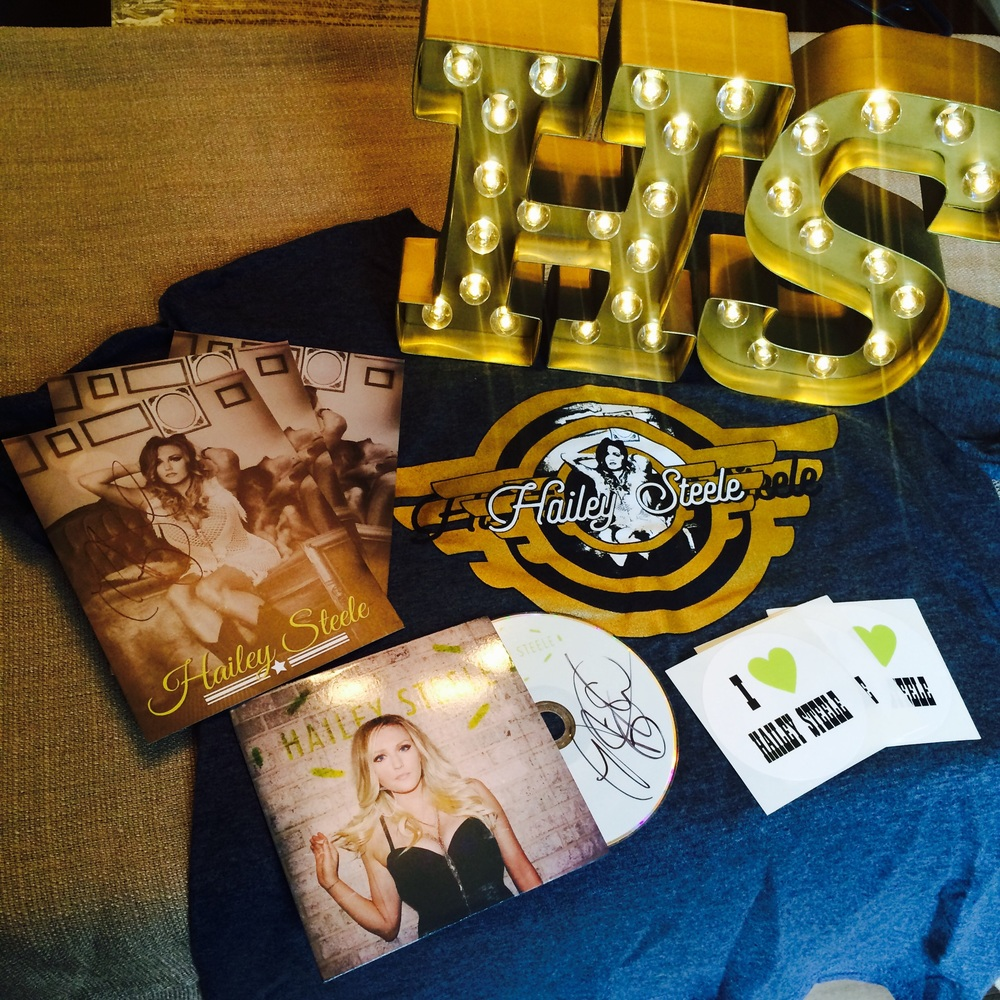 Everything Bundle - includes an EP, 5X7, sticker and t-shirt - $25