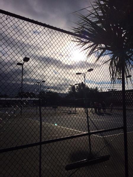 Detta är tyvärr det enda solljuset Florida har bjuckat på so far. Hoppas på bättring.