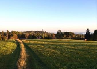 På väg hemmåt. Falun är vackert!