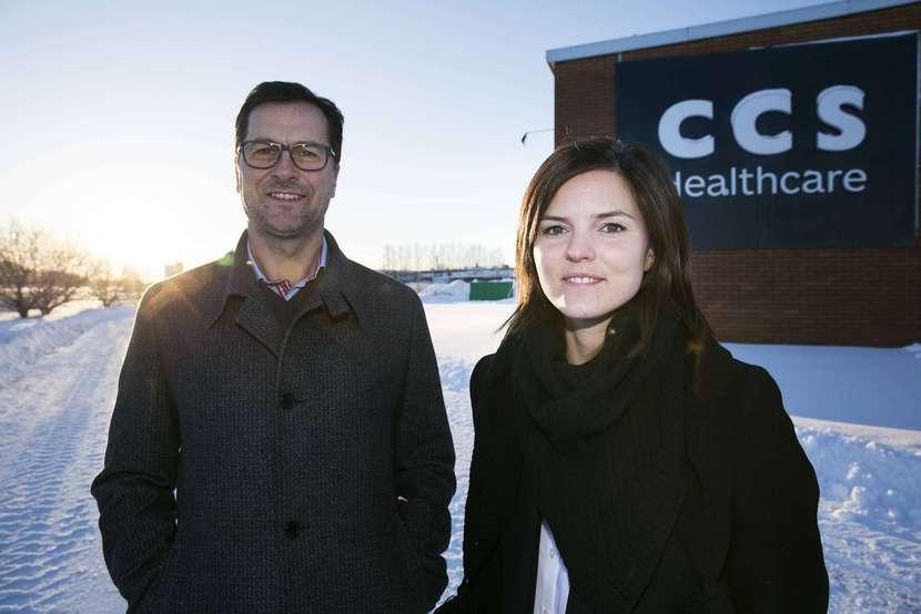 CCS VD tillika forna slalomhjältenJonas Nilsson och jag.Bild snodd från dt.se