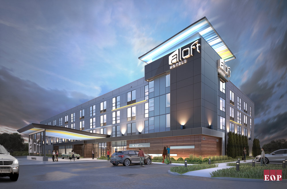 The Aloft Hotel - Opening Summer 2017