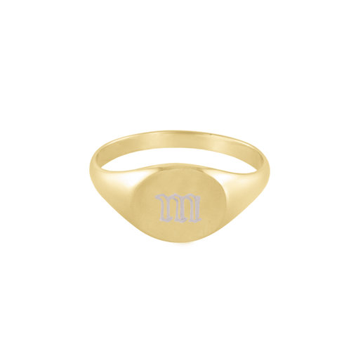 bbb5efc901e865 Old English M Signet Ring.jpg. THE GOTHIC SIGNET RING