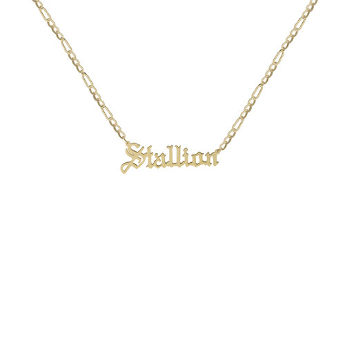 aolo slp gold plate com necklace samantha plated amazon script name
