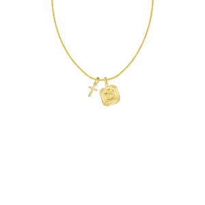 219bd384a5b Cross & Cupid Pendant Necklace.jpg. THE ...