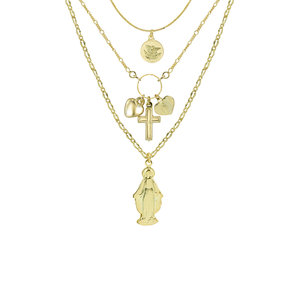 efbf6a30526 THE FULL SAINT LAYER NECKLACE II