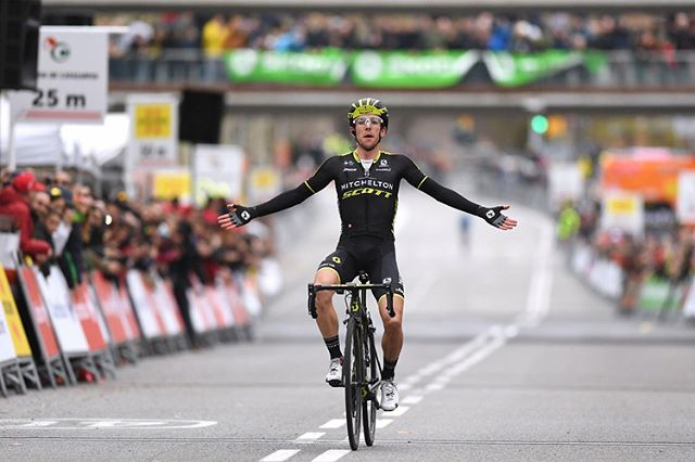 What a day yesterday! The @mitchelton_scott boys laid it on the line here in @voltacatalunya and I managed to come up with the goods!! 🙌🏽🙌🏽🙌🏽🙌🏽🙌🏽🙌🏽🙌🏽