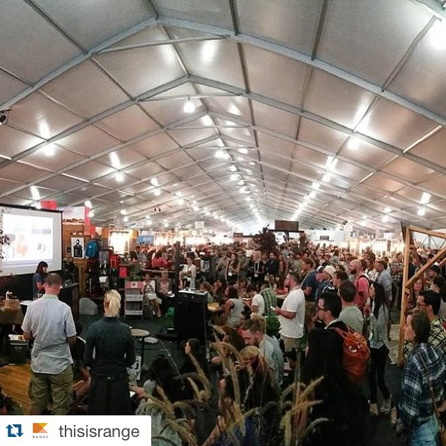 "This was a great time! Props and thanks to @thisisrange for the great mag, and article on our collab with them! ✌🏼️#bluebearoutside #mtstyle #benswonderfulwalkingstick #outdoorretailer @ventureoutor  #Repost @thisisrange with @repostapp. ・・・ #regram from @ventureoutor. Full house last night for RANGE Founder Jeanine Pesce's trend presentation ""Outdoor/Offline."" --Check out the accompanying feature essay in #RANGEmag Issue Three via the link in our profile!🚩"