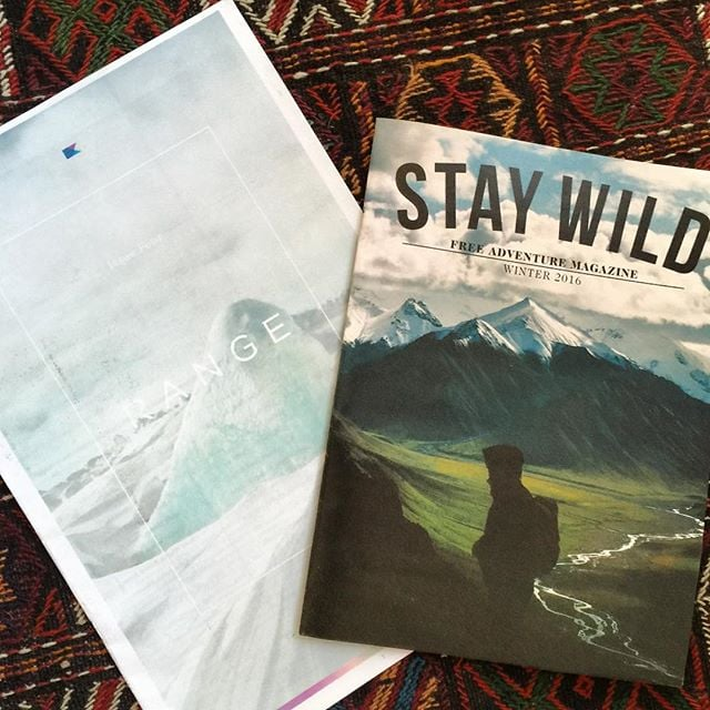 Two of our favorite takeaways from this years @outdoorretailer @thisisrange @staywildmagazine ✌🏼️