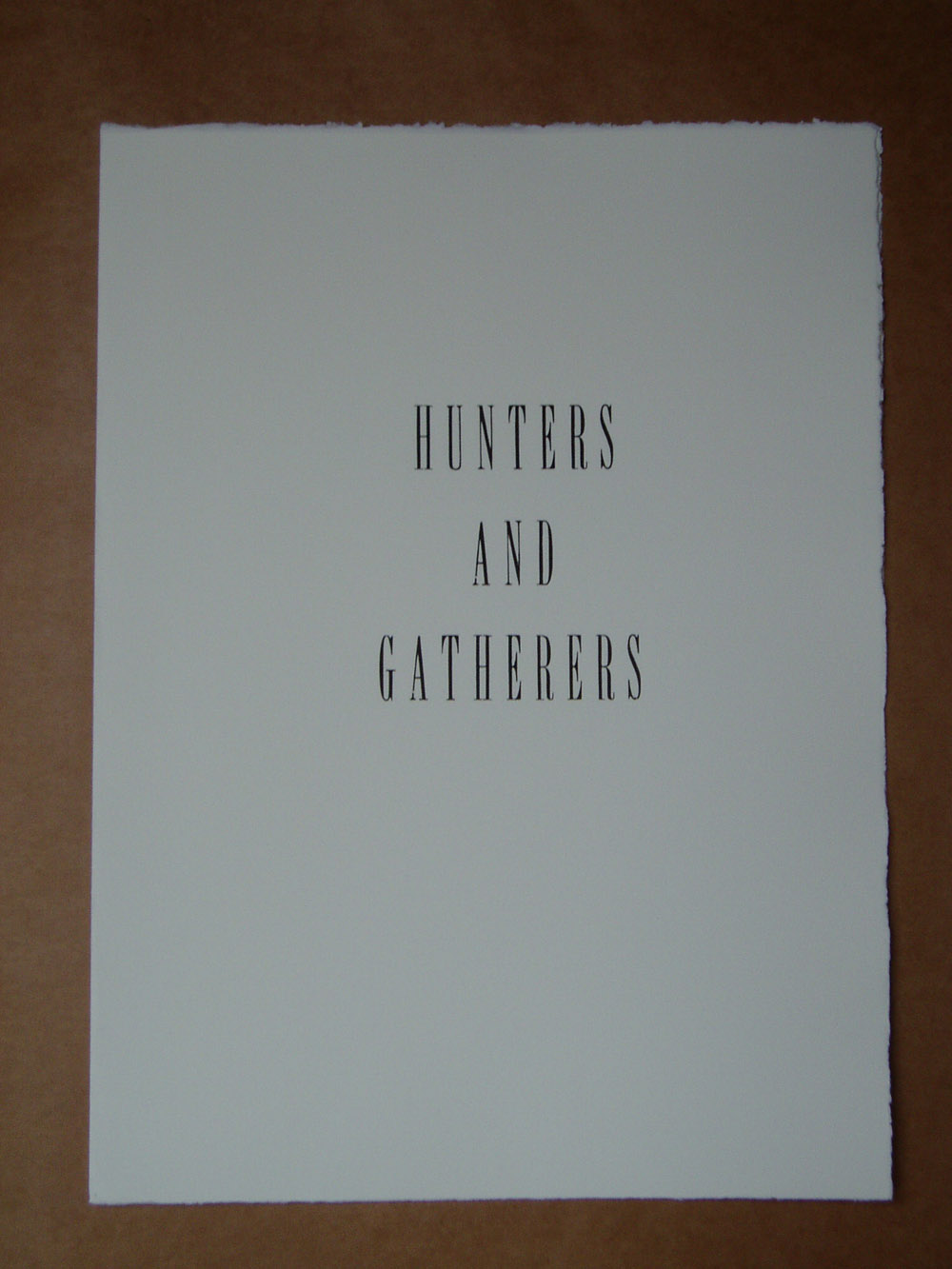2. Hunters and Gatherers title page.jpg