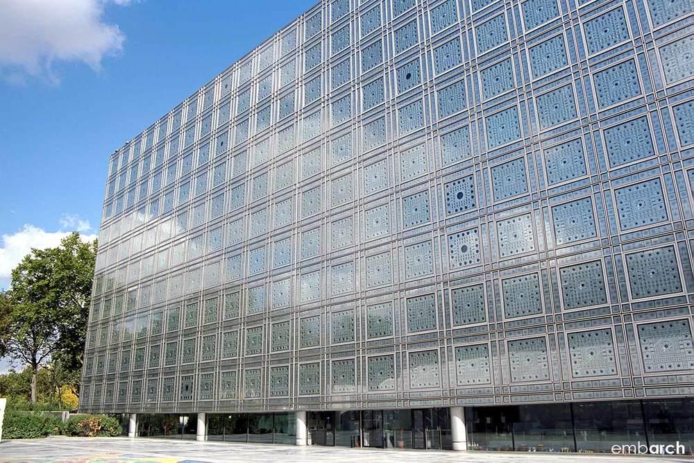 Arab World Institute - exterior