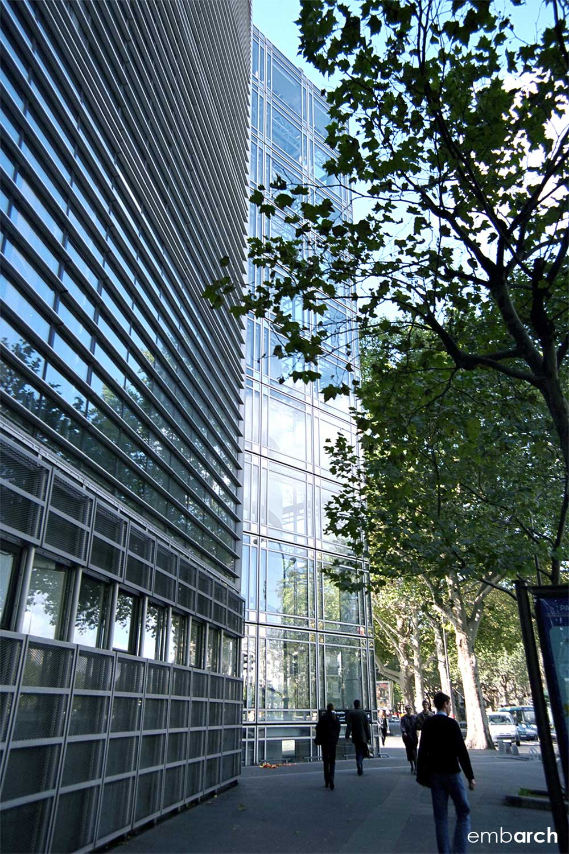 Arab World Institute - exterior detail