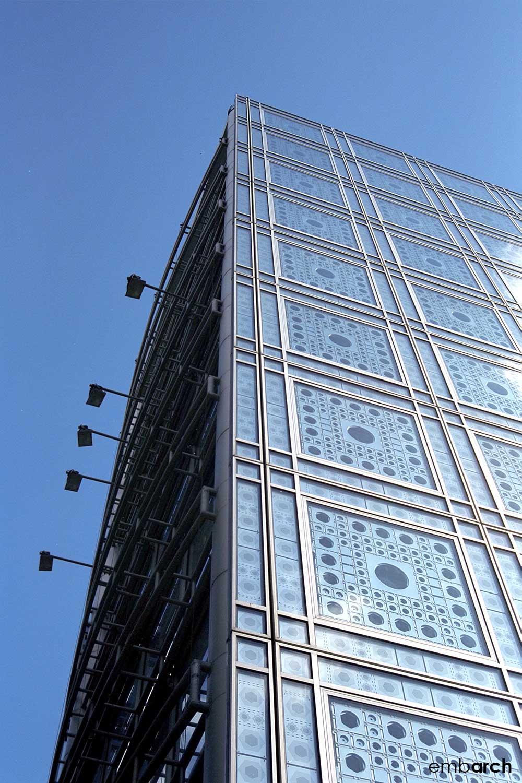 Arab World Institute - facade
