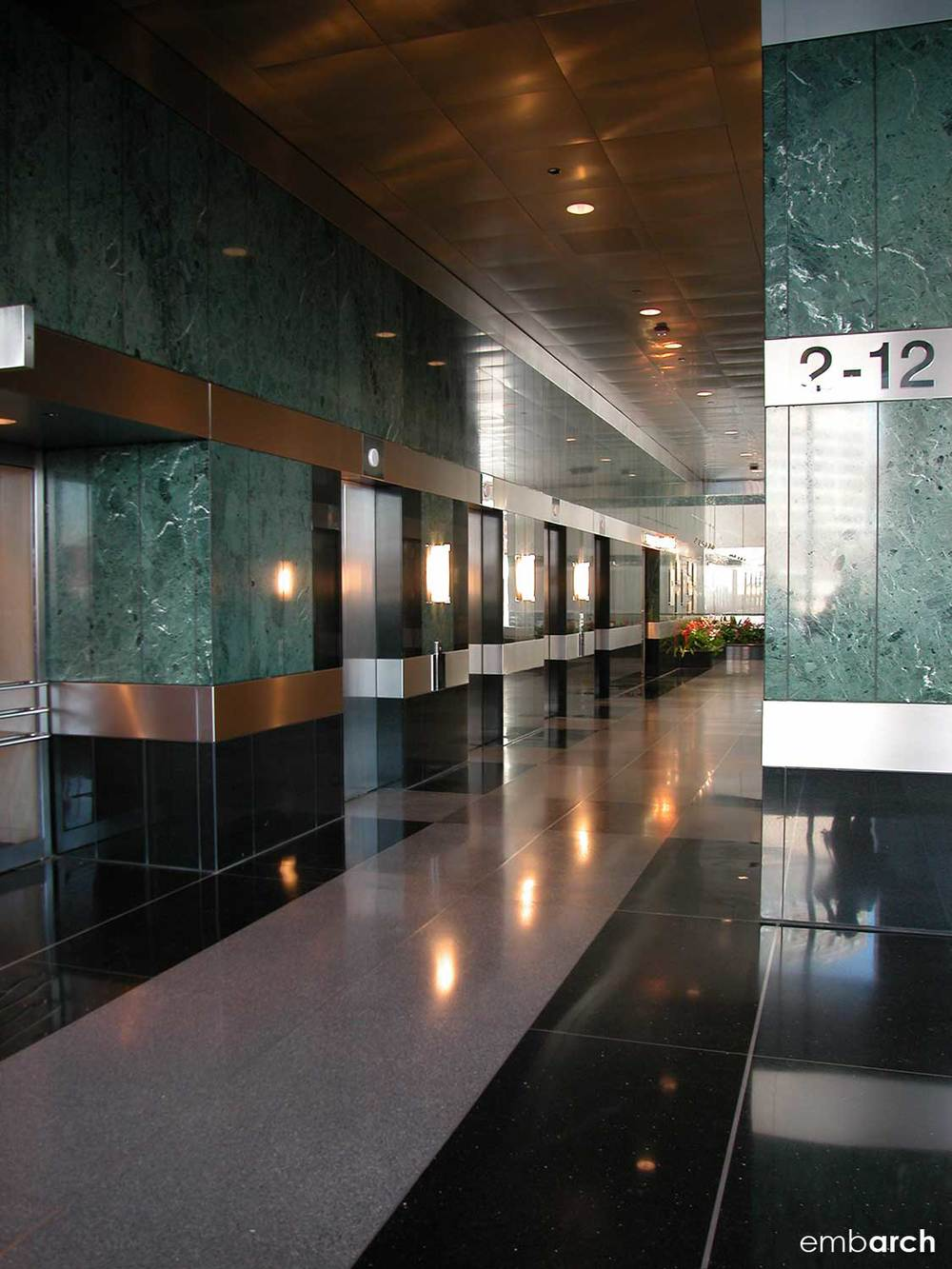 333 West Wacker Drive - lobby interior