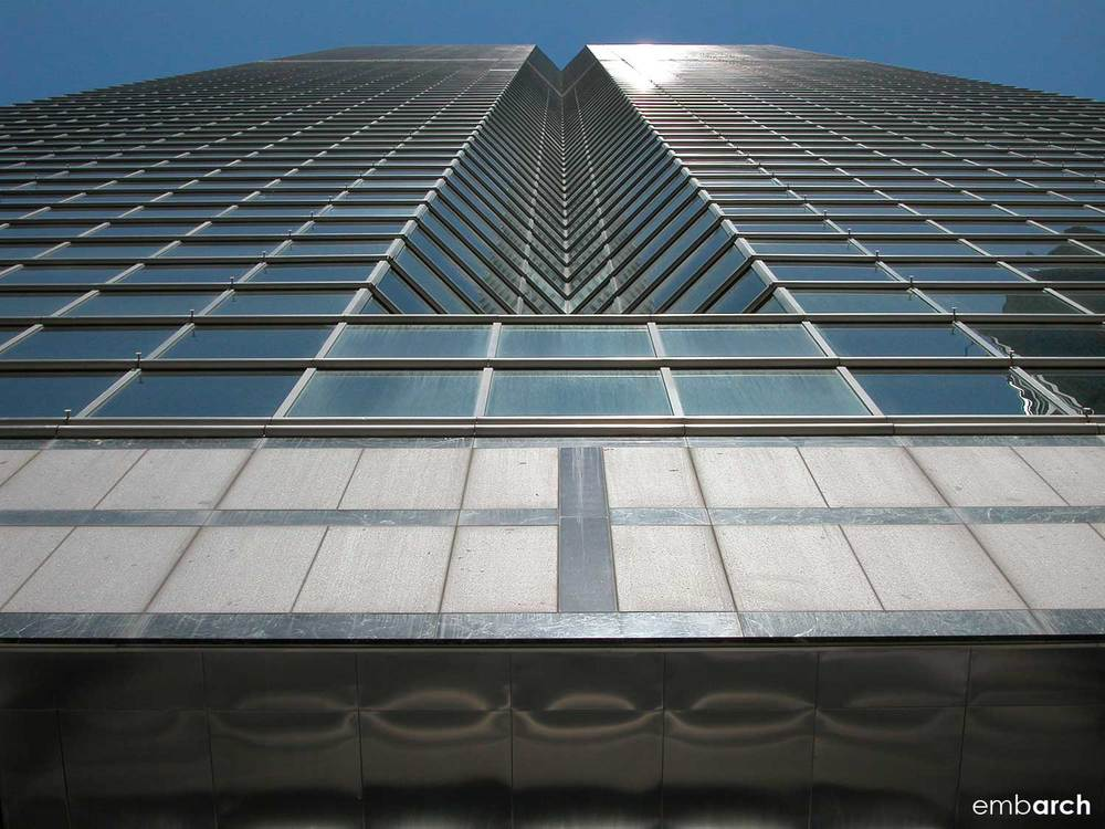 333 West Wacker Drive - facade detail