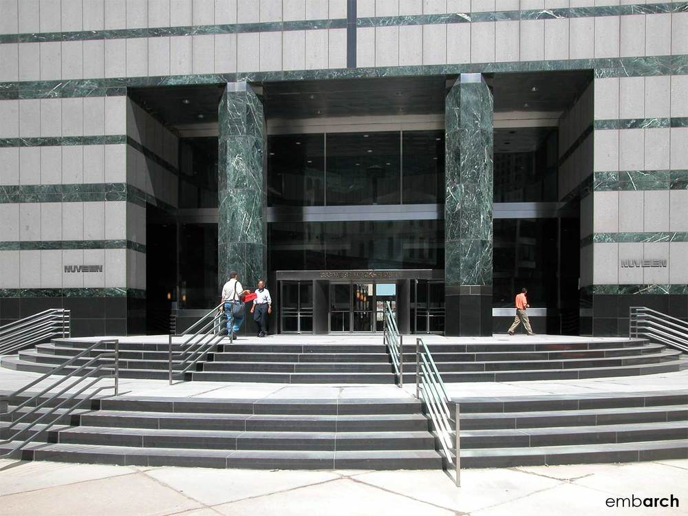 333 West Wacker Drive - entry view