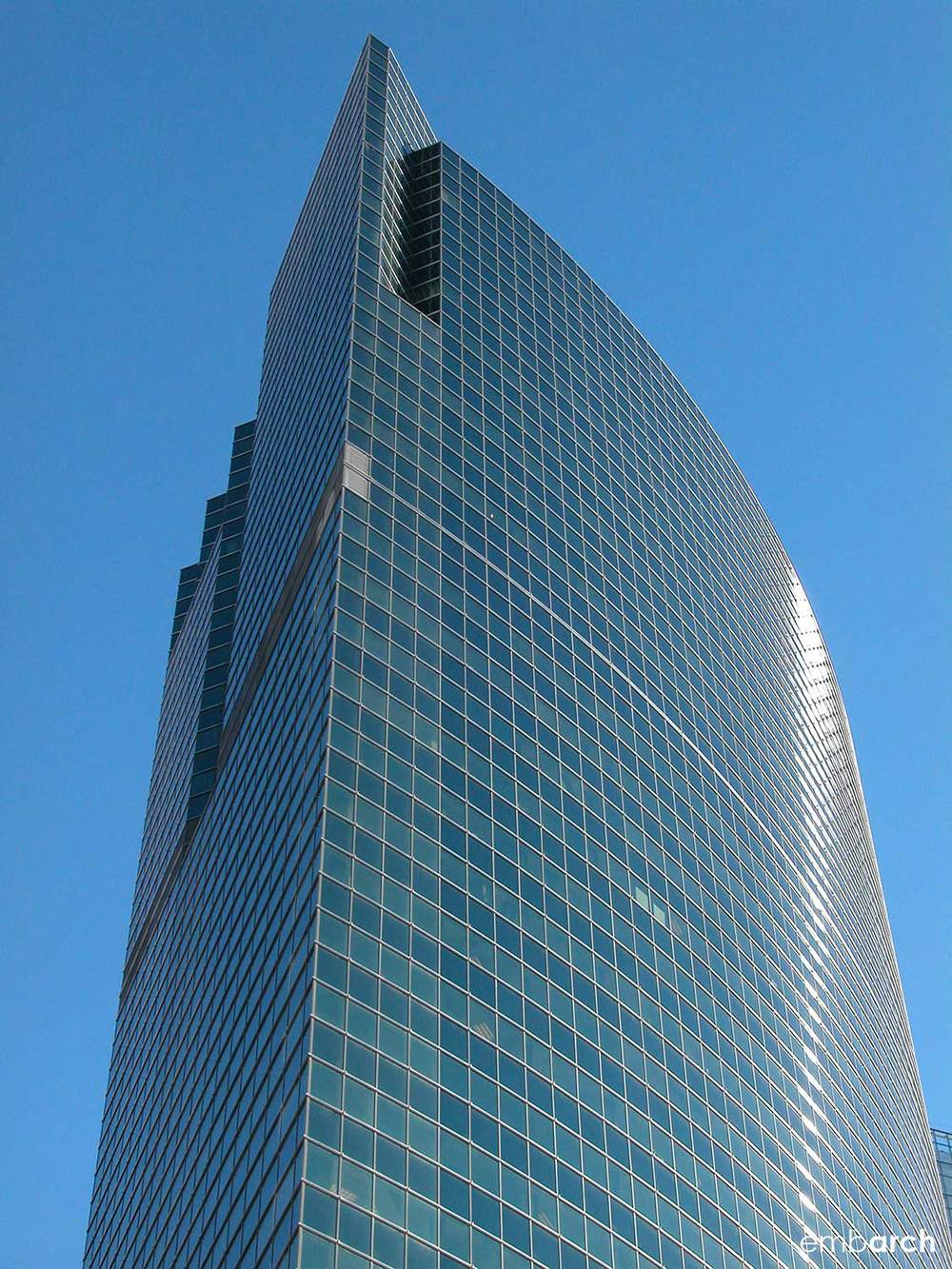 333 West Wacker Drive - exterior detail