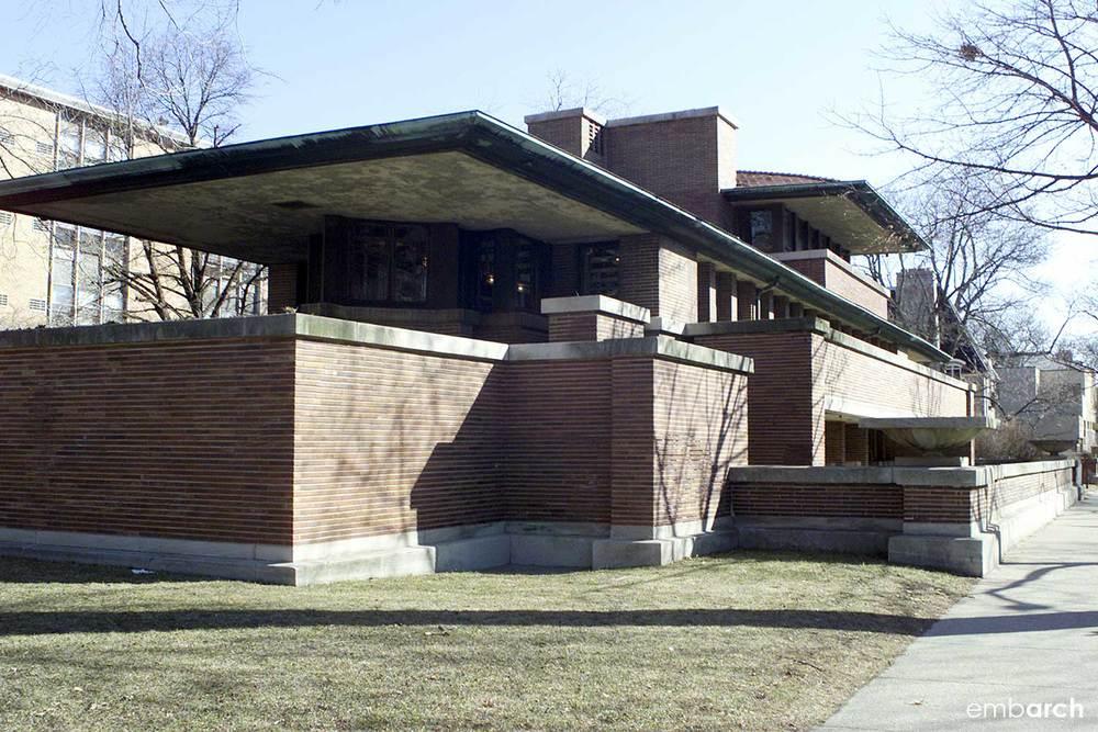 Robie House - exterior