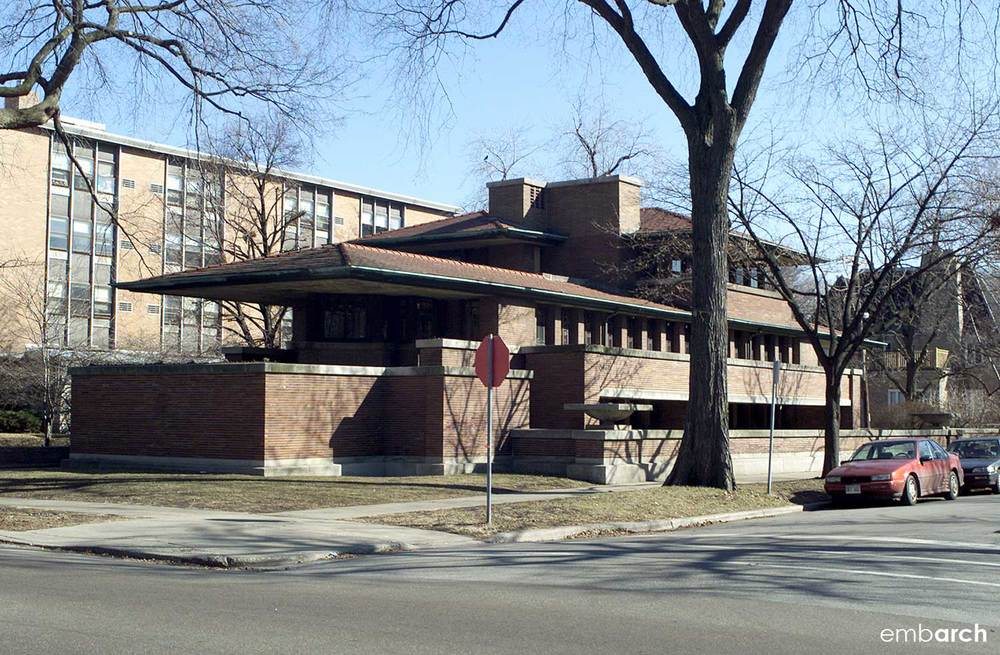 Chicago Robie House Embarch