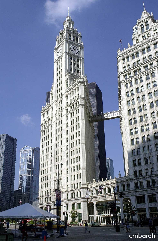 Wrigley Building - exterior