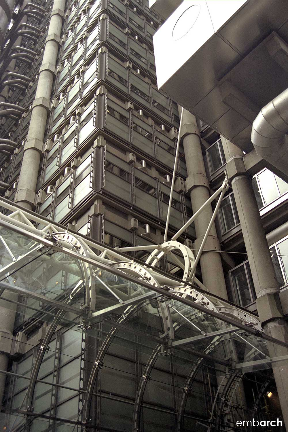 Lloyds of London - exterior detail