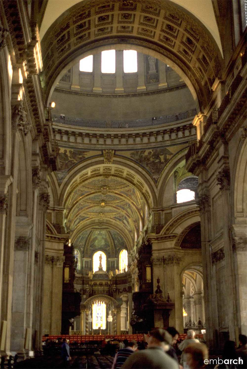 St. Paul's Cathedral - interior