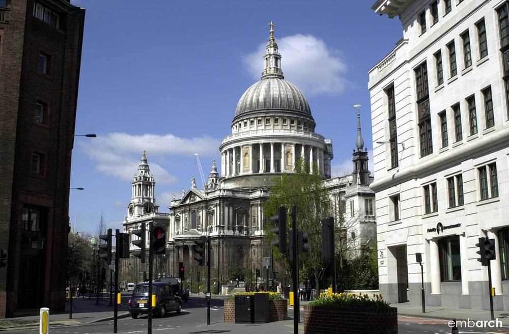 St. Paul's Cathedral - exterior