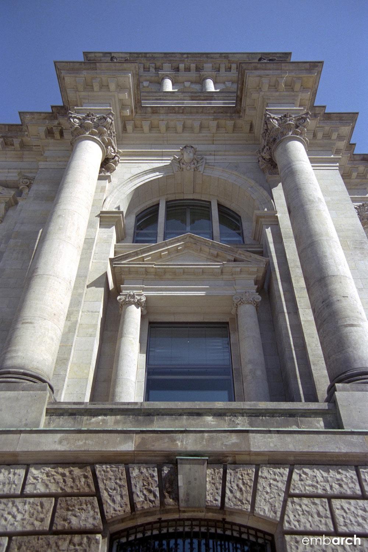 Reichstag Building - exterior detail