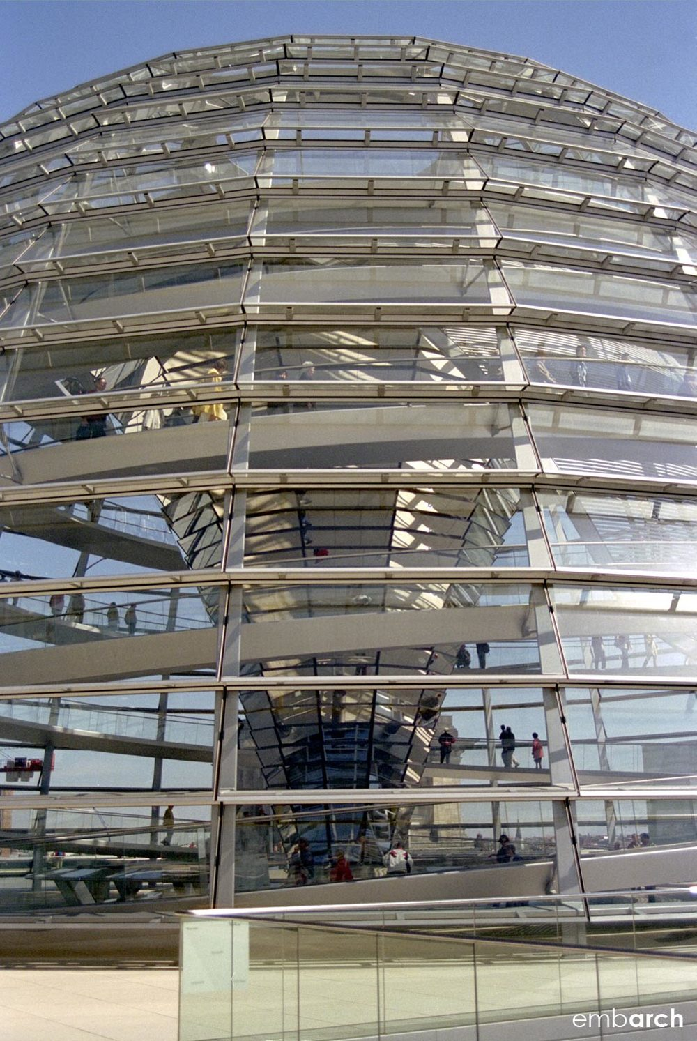 Reichstag Building - dome exterior