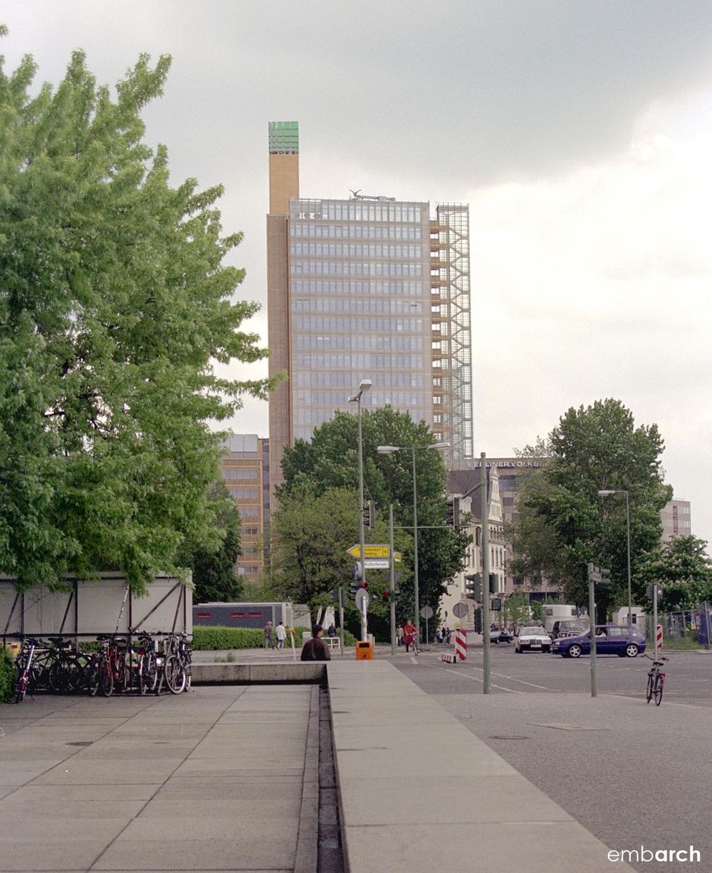 Potsdamer Platz - view from street