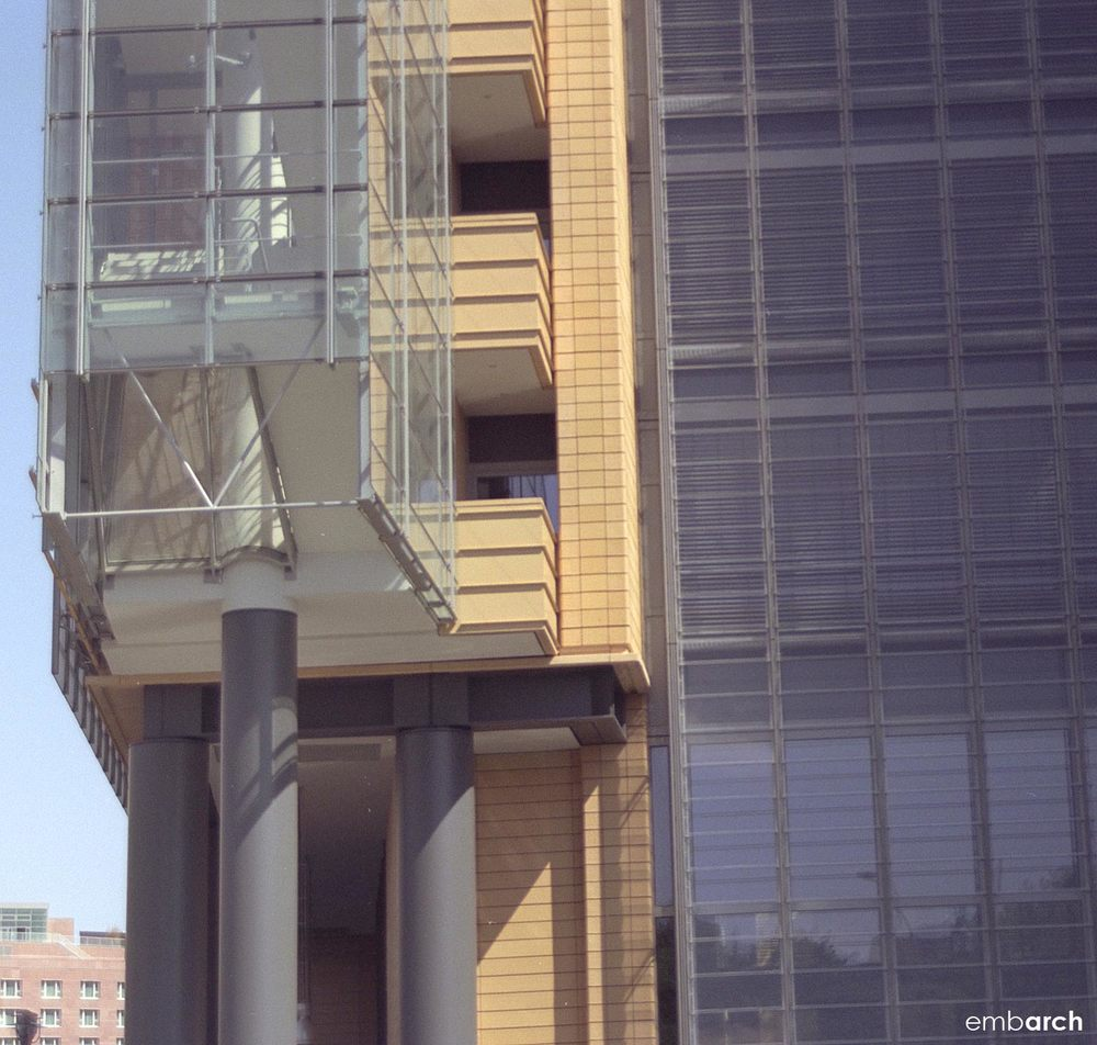 Potsdamer Platz - exterior stair detail
