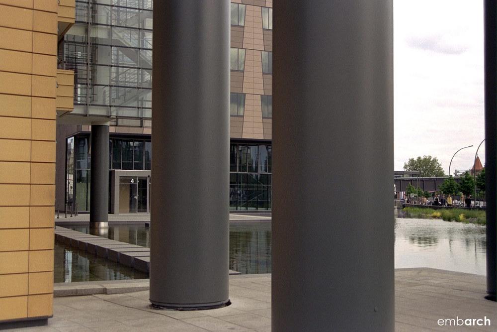 Potsdamer Platz - exterior colonnade