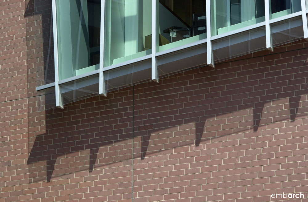 Vontz Center for Molecular Studies - exterior detail
