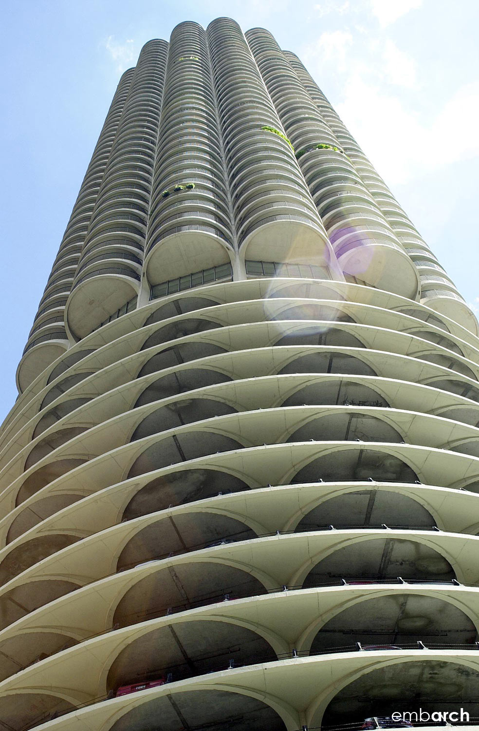 Marina City Towers - exterior