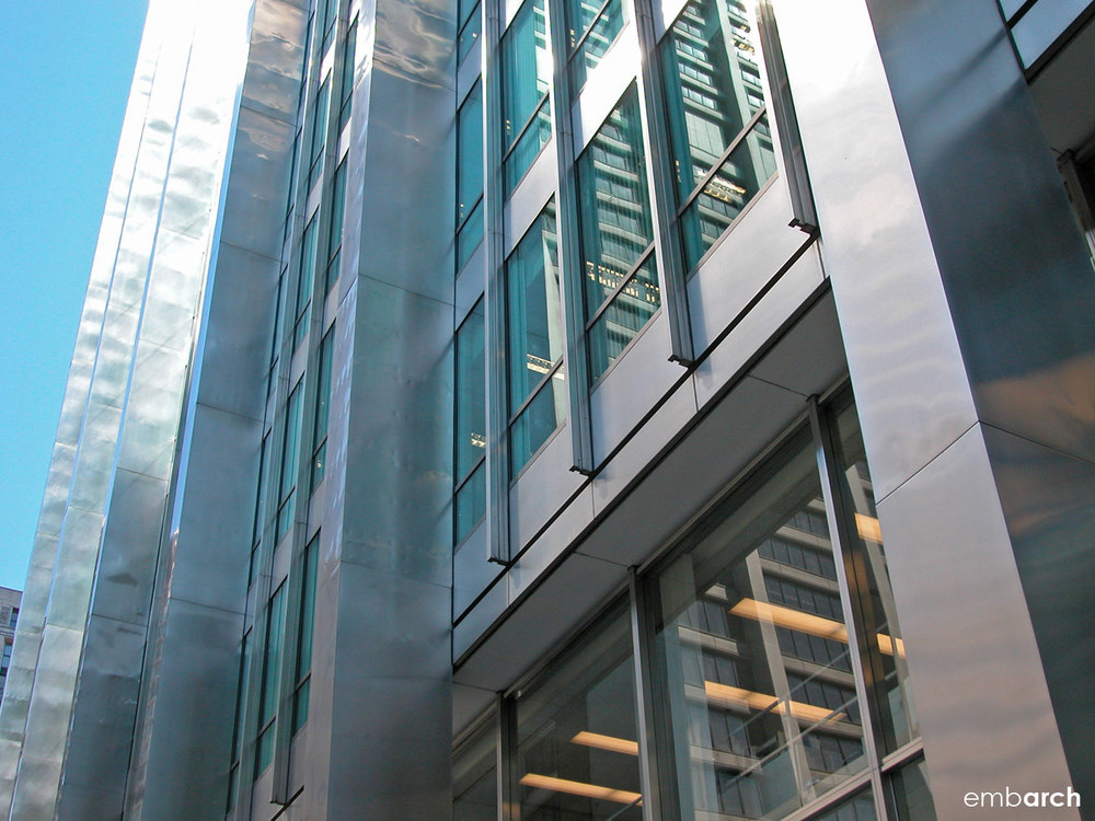 Inland Steel Building - exterior detail
