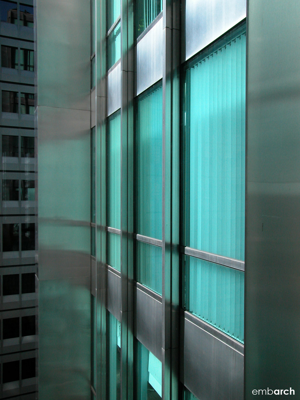 Inland Steel Building - facade detail
