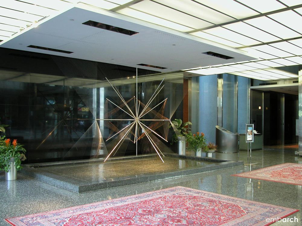 Inland Steel Building - lobby interior