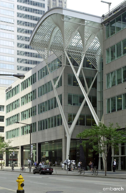 Allen Lambert Galleria - exterior street view
