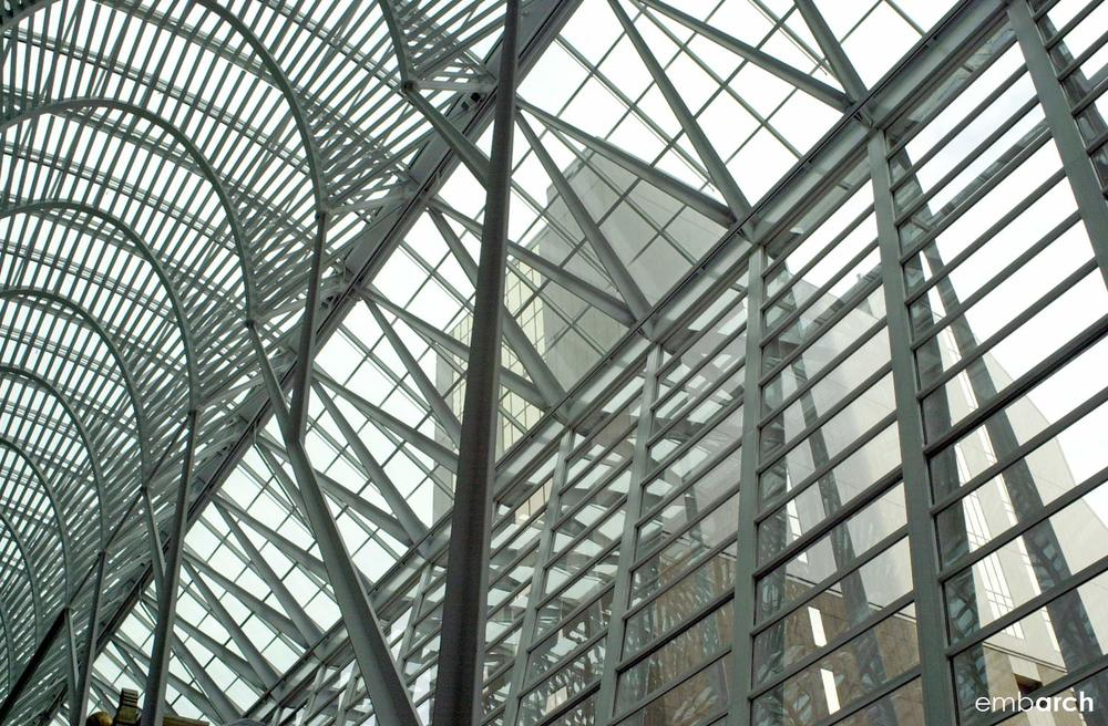 Allen Lambert Galleria - interior ceiling detail