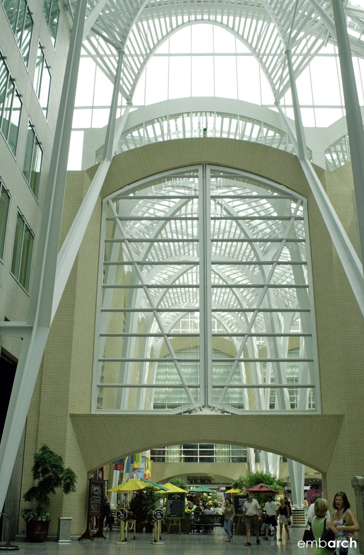 Allen Lambert Galleria - interior wall