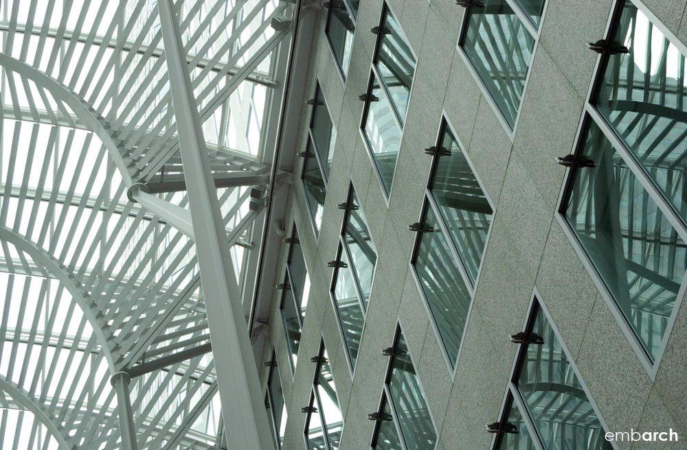Allen Lambert Galleria - interior detail