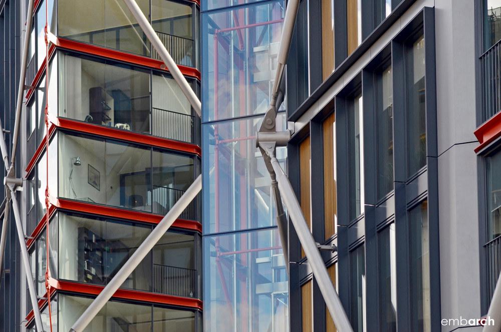 NEO Bankside - exterior detail