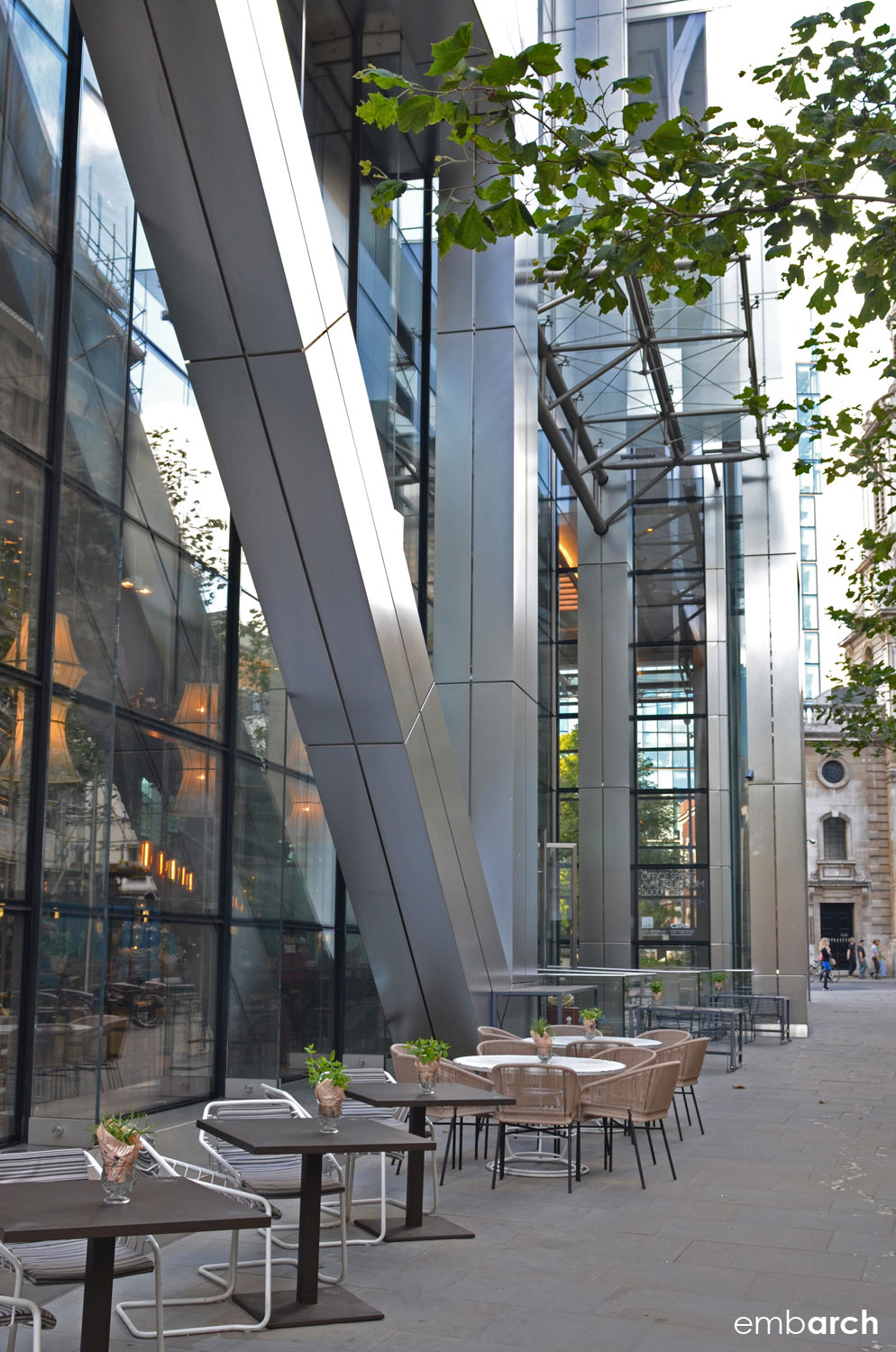Heron Tower - street edge