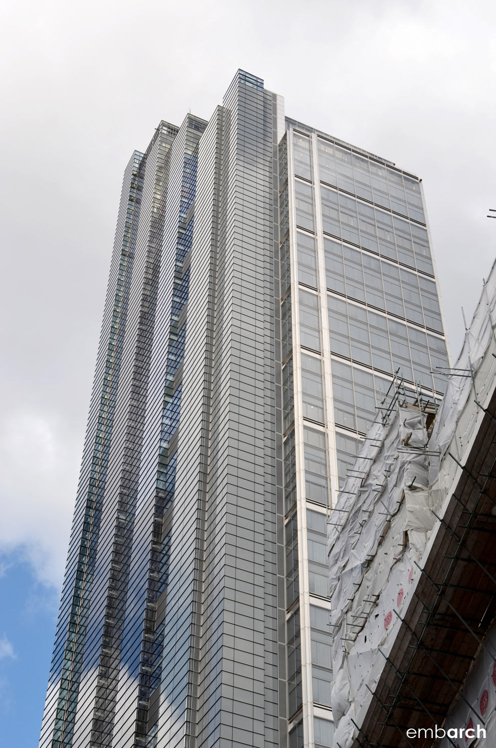 Heron Tower - building exterior