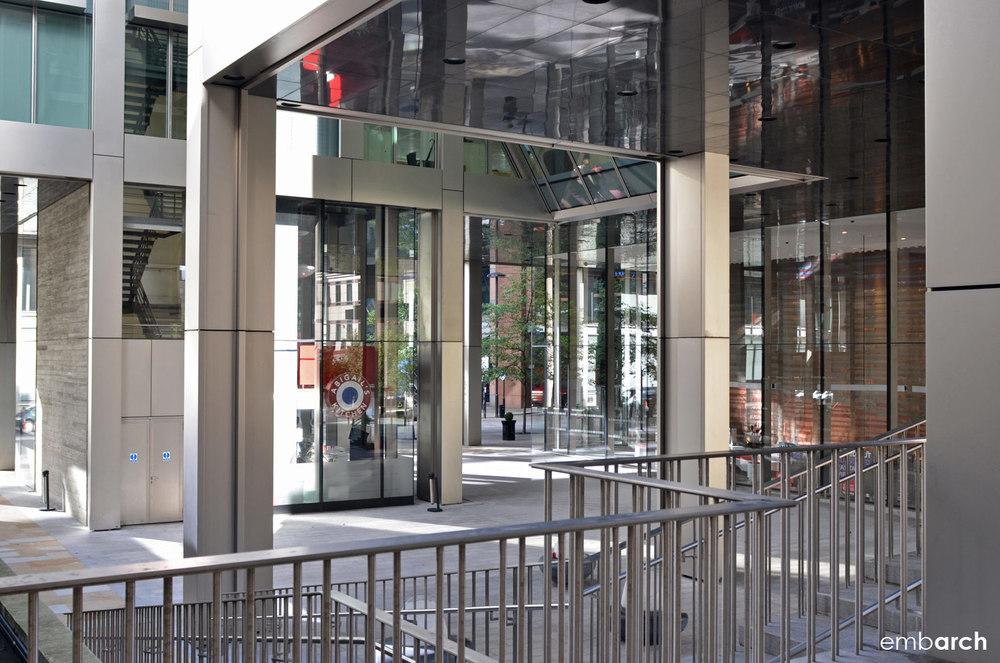5 Aldermanbury Square - street level