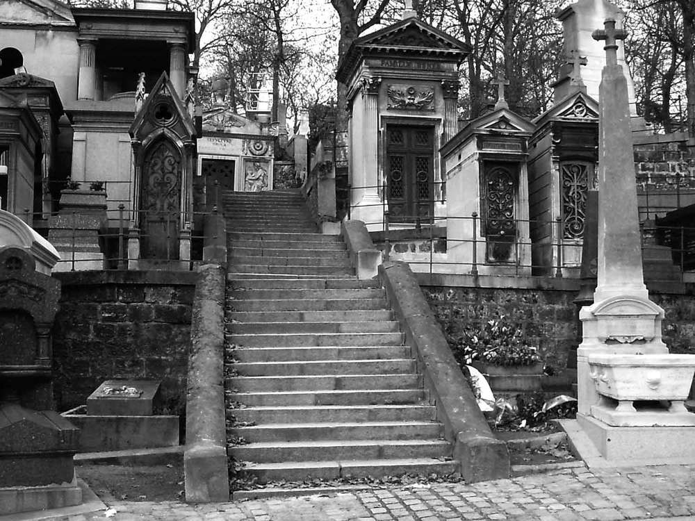 The cemetery Pere Lachaise