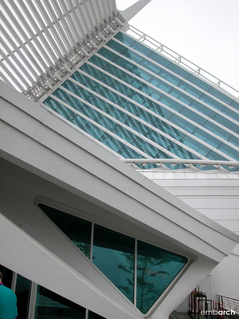Quaddraci Pavilion at the Milwaukee Art Museum