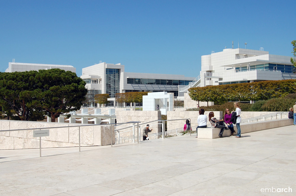 Getty Center - exterior view