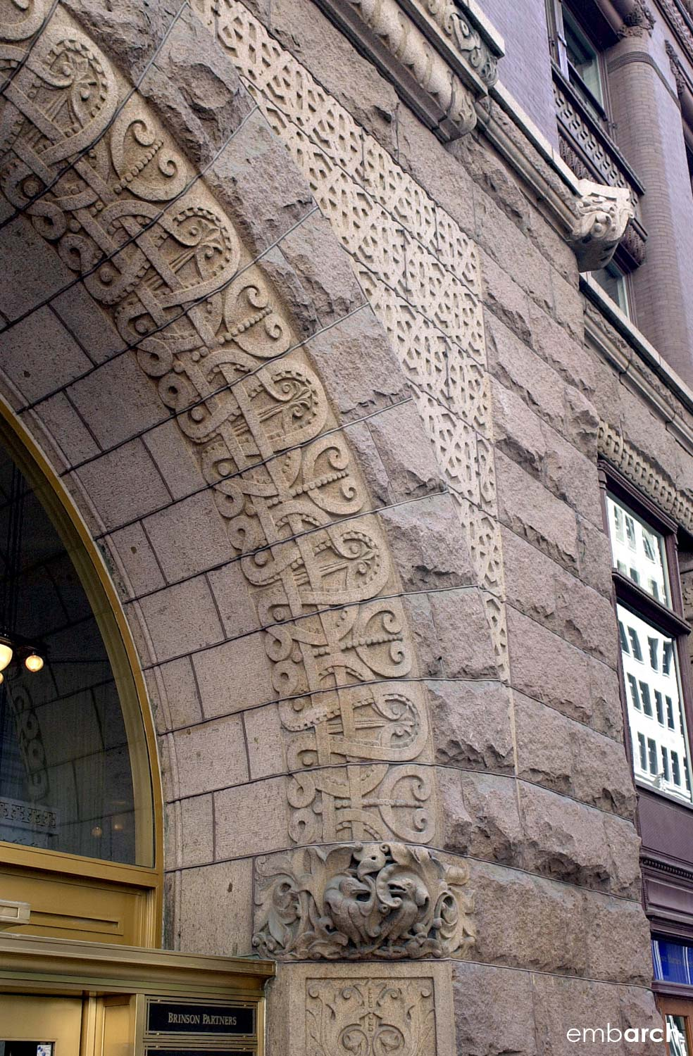 Rookery Building - exterior detail