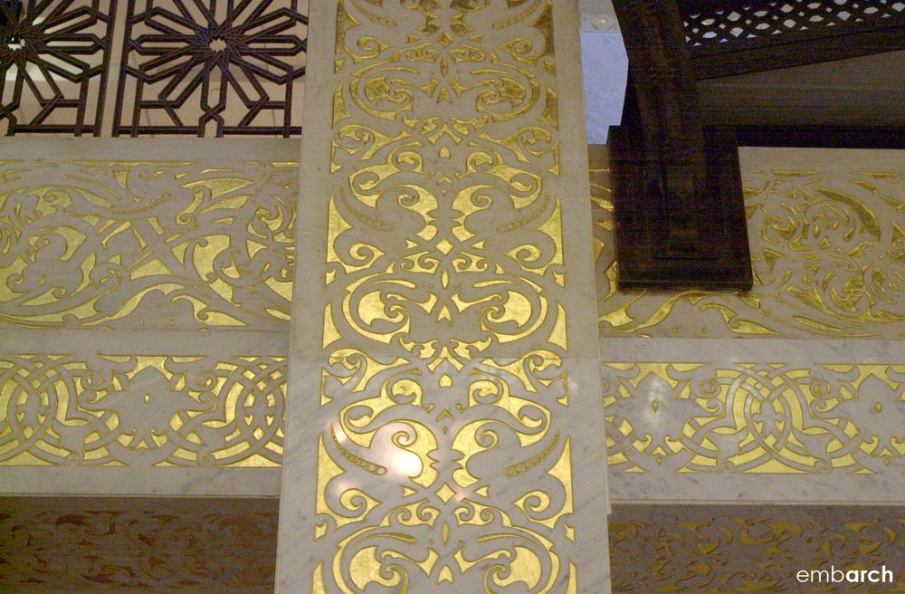 Rookery Building - interior lobby detail